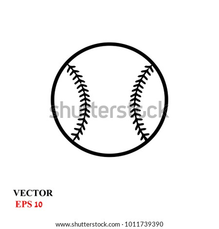 stock-vector-baseball-ball-on-a-white-background