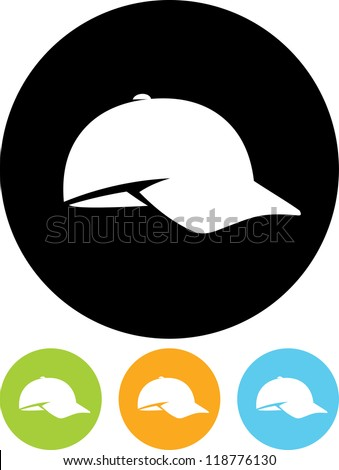 Baseball cap - Vector icon isolated