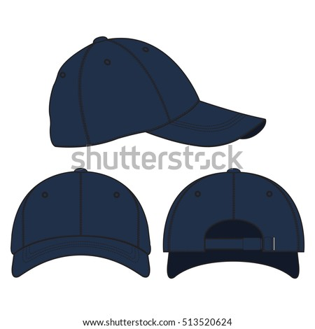 underwear and baseball cap template vector 123freevectors. Black Bedroom Furniture Sets. Home Design Ideas