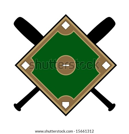 baseball diamond illustration - group picture, image by tag ...