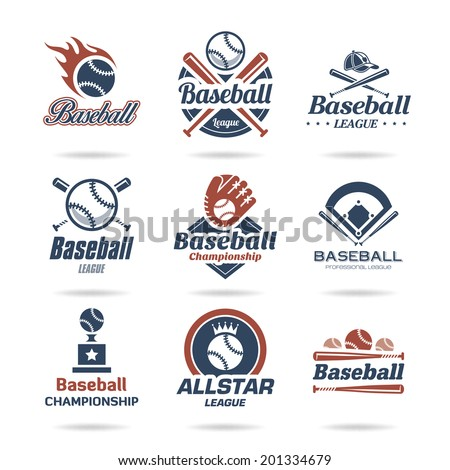 stock-vector-baseball-icon-set