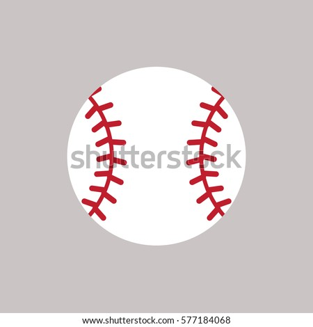 stock-vector-baseball-icon-vector