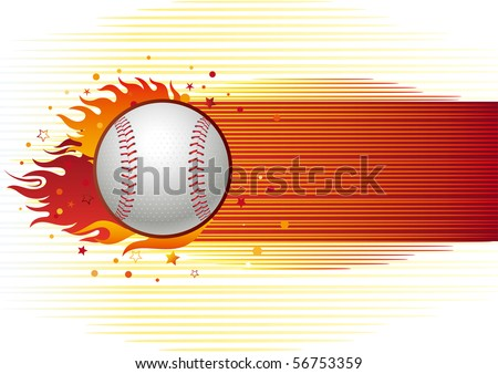 baseball sport design element,abstract background