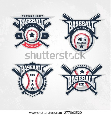 Baseball tournament professional logo
