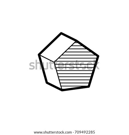 Basic 3d geometric shapes isolated on a white background vector illustration