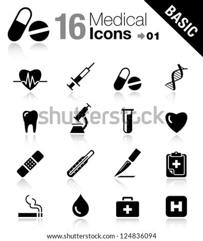 Basic - Medical icons