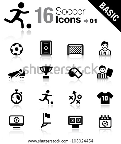 basic   soccer icons