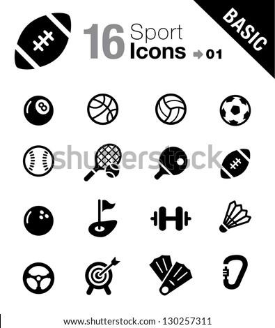 Basic - Sport icons