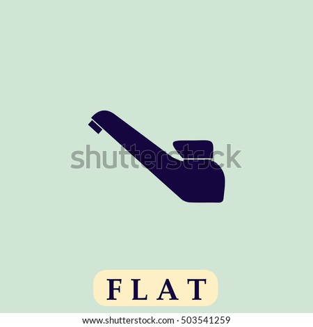 Basin Icon Vector Flat Simple Pictogram On Light