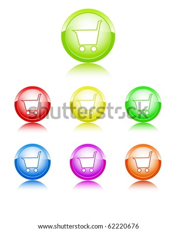 Basket color icons