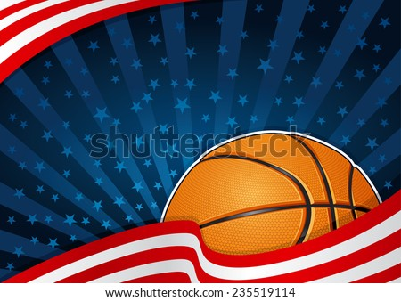 basketball america background