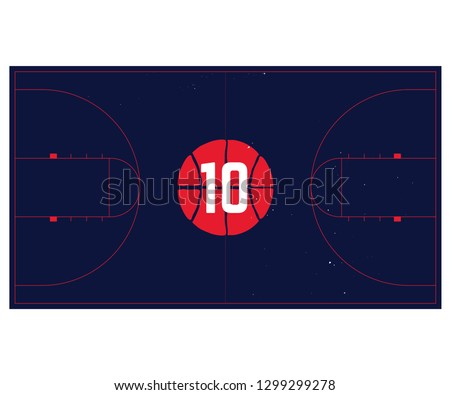 basketball court start