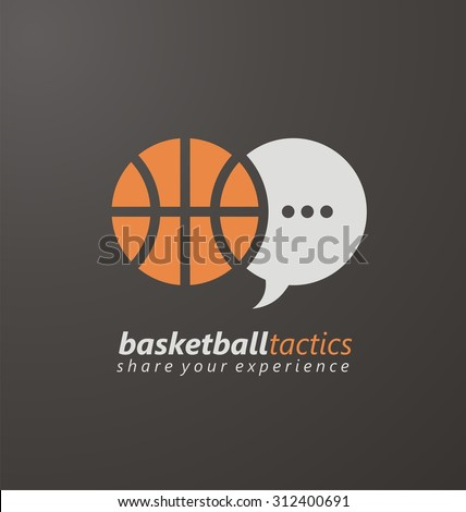 basketball creative logo design