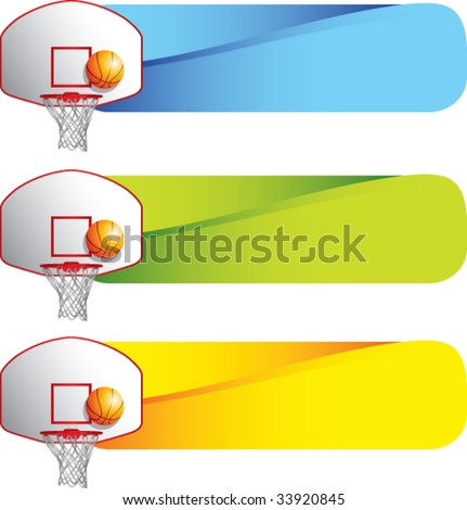 basketball hoop and backboard