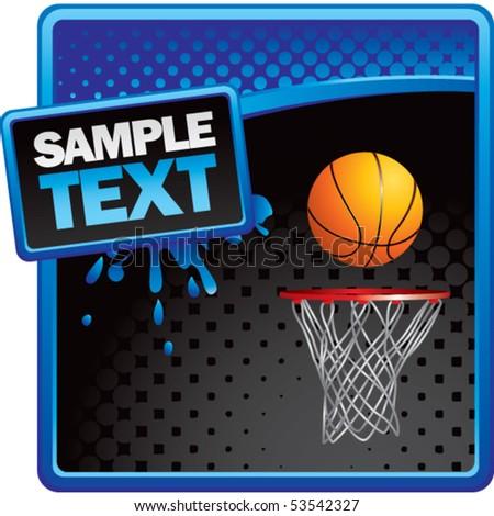 basketball hoop. stock vector : asketball hoop