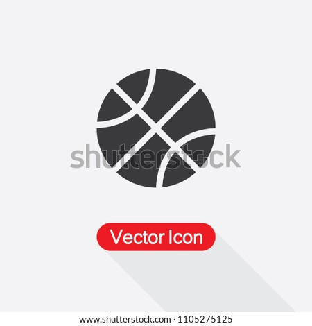 Basketball Icon Vector Illustration Eps10