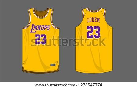 basketball jersey template