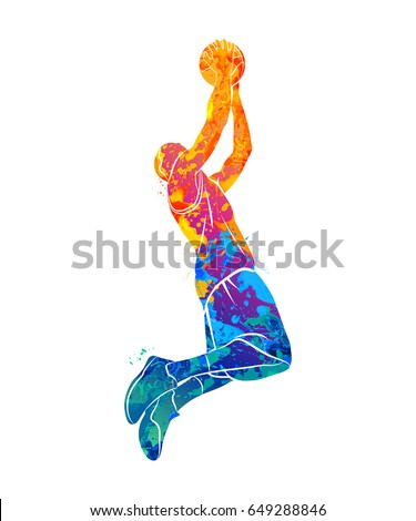 basketball player  ball