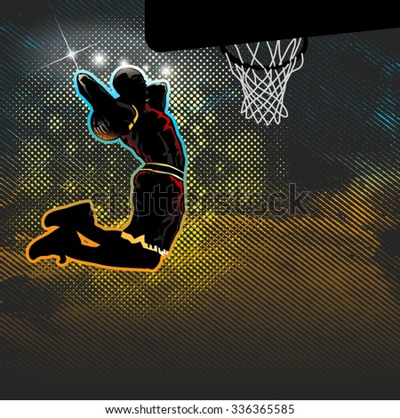 Vector Images, Illustrations and Cliparts: Basketball player