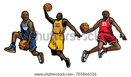 free basketball players vectors rh vecteezy com basketball player vector free baseball player vector