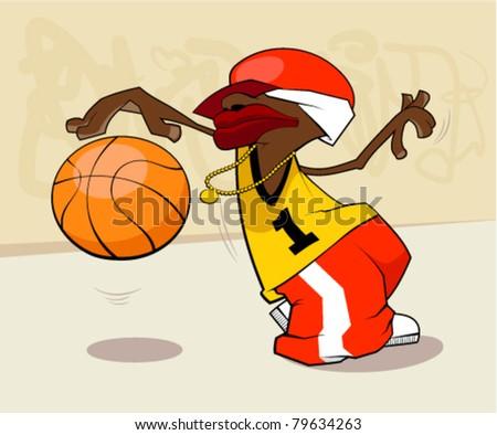 Basketball player star