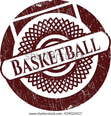 Basketball rubber seal