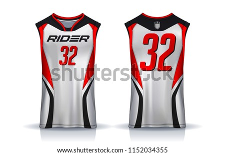 Basketball Sports Jersey Vectors Download Free Vector Art Stock