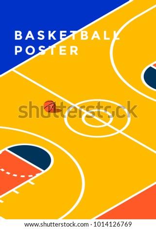 basketball tournament  minimal