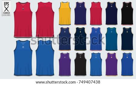 basketball sports jersey vectors download free vector art stock