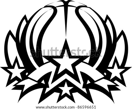 basketball star download free vector art stock graphics images rh vecteezy com Nike Football Logo Vector Nike Football Logo Vector