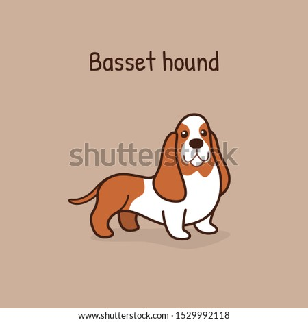basset hound cartoon character