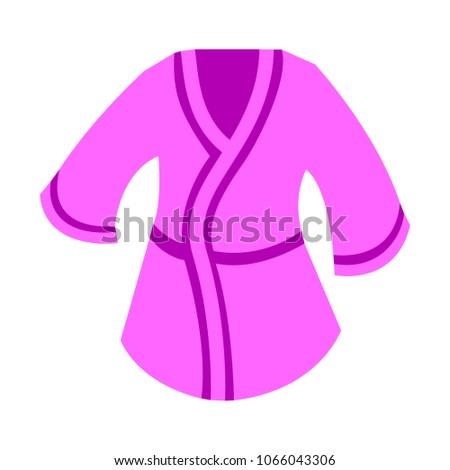 bathrobes icon   vector clothes