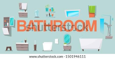 bathroom interior design with