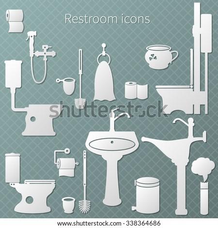 bathroom or restroom equipment