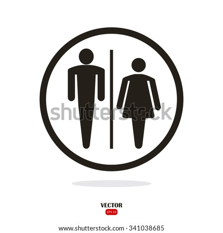 Sign For Bathroom | Interesting 40 Bathroom Sign Eps Inspiration Of Toilet Sign Free