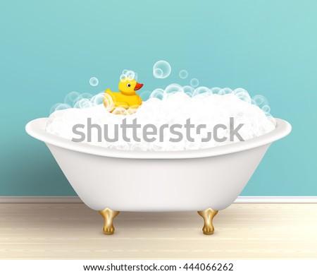 bathtub cast a shadow on
