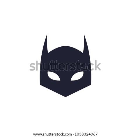 batman black mask logo