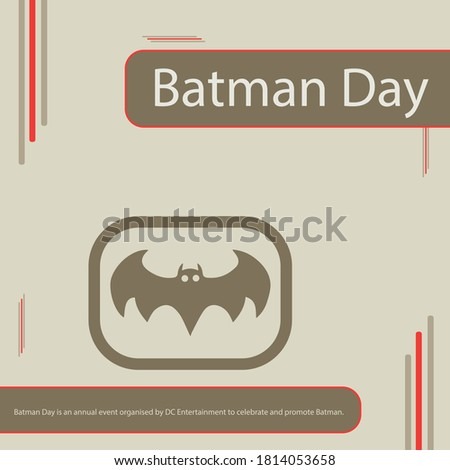 batman day is an annual event