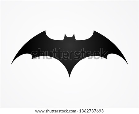 batman wing logo superhero