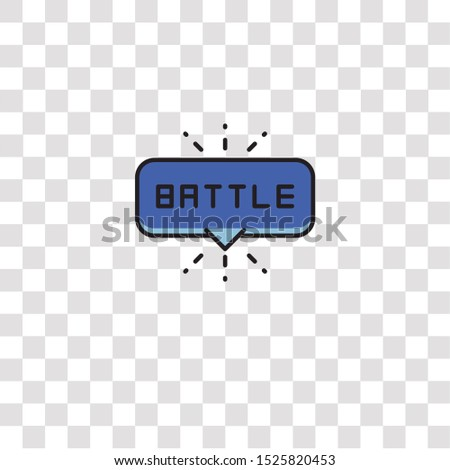 battle icon sign and symbol