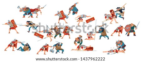 battle of romans and barbarians
