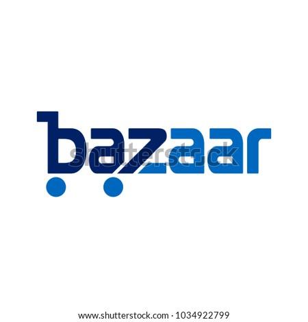bazar vector logo