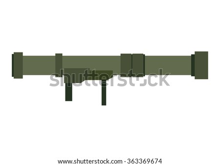 bazooka cartoon vector