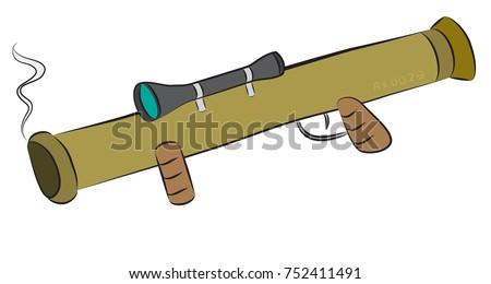 bazooka rocket launcher weapon