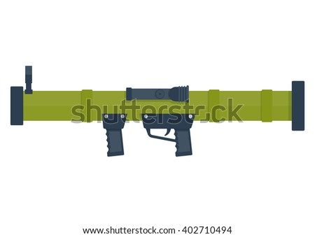 bazooka vector illustration