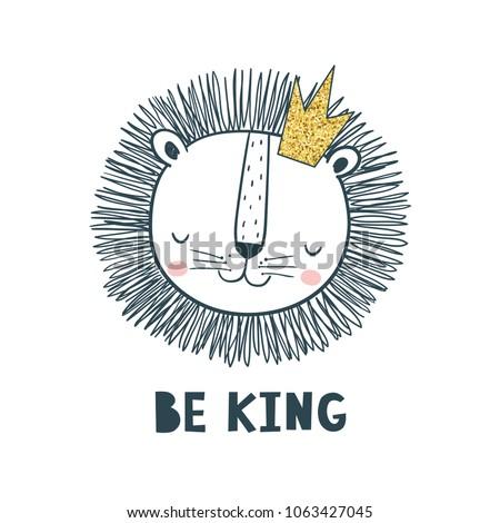 be king vector illustration