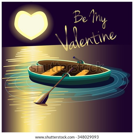 be my valentine journey card