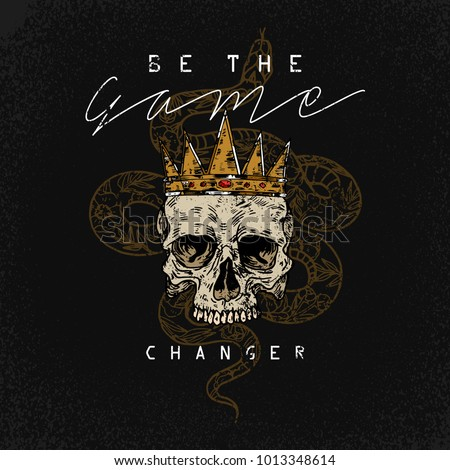 be the game changer slogan....