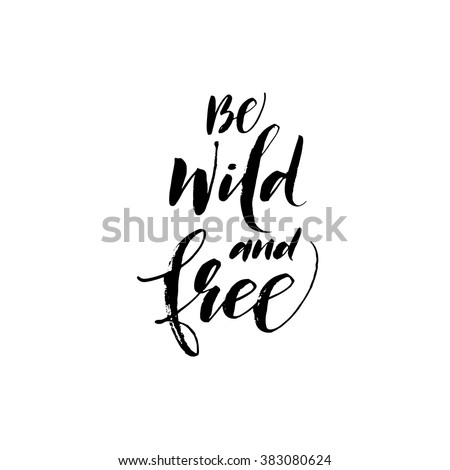 be wild and free card hand
