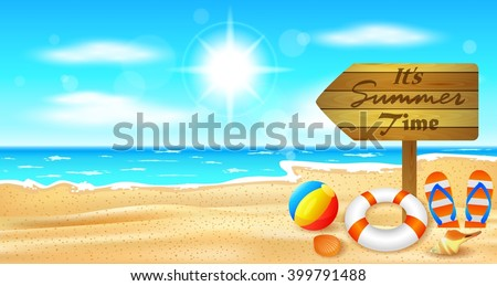 beach and tropical sea with